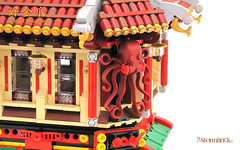 CT-Squid (StormBrick) Tags: lego moc building modular chinese town seafood fish market restaurant
