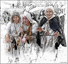 (2400) SPLASH Leprosos - VI Jornades Internacionals de Recreació Històrica, Al-qüra 1233 (QuimG) Tags: people gent gente retoc retoque retouch splash bn vintage panasonic quimg quimgranell joaquimgranell afcastelló specialtouch obresdart
