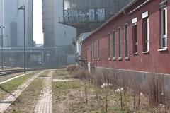 Behind the Railway Station (chearn73) Tags: urban industrial lane frankfurt germany railway travel city