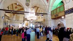 Konya - Mevlana Turbesi, shrine interior, pilgrims (damiandude) Tags: rumi dervish sufi