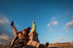 There She Is (yaznatasha) Tags: newyork nyc newyorkcity usa america canon canon5dmarkiii lightroom outdoors outdoor november winter christmas statueofliberty libertyisland