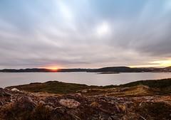 Sunset over Ferryland (Karen_Chappell) Tags: sunset ferryland newfoundland nfld clouds nd110 longexposure scenery scenic landscape seascape atlantic atlanticcanada canada avalonpeninsula sea sky