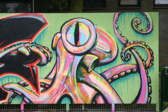 octopus (sjoerdhoekstra1) Tags: graffiti drawing colours ocean octopus