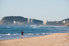Morning Jog (orgazmo) Tags: fuji fujifilm fujix fujinon xf55200mmf3548ois xpro2 downunder australia qld queensland goldcoast beaches landscapes