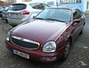 Scorpio (Schwanzus_Longus) Tags: bremen german germany modern car vehicle red sedan saloon spotted spotting carspotting ford scorpio