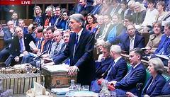 2016 1123 006 (PLX100) Philip Hammond; Autumn Statement (BBC2) (Lucy Melford) Tags: panasoniclx100 parliament houseofcommons autumnstatement chancellor