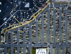 Woburn Mall Aerial (TomBerrigan) Tags: woburn mass mall aerial dji phantom drone parking lot cars boston massachusetts landscape architecture