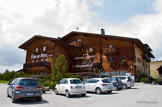 Almgasthof Ütia de Börz, Würzjoch, Dolomites, Italy