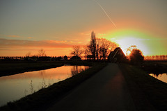 Witch house of Medemblik (Harry Kool) Tags: house witch sunset zon zonsondergang colors medemblik weather weer sky clouds