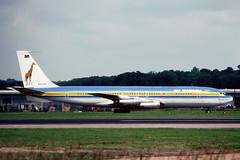 N762TW Boeing 707-331 Air Tanzania (pslg05896) Tags: n762tw boeing707 airtanzania lgw egkk london gatwick