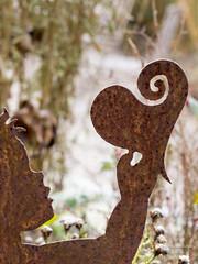 Herz (gartenzaun2009) Tags: frost winter garten herz rost