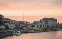 (gr.irina199228) Tags:      ukraine beauty city sunset river dnepr