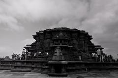 Belur (Rajavardan) Tags: monocrome temples black white nikon nikon5200 ngc travel travelphtography historic 18mm