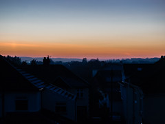 Welcome to suburbia (wi-fli) Tags: bristol suburbs suburbia houses semis duplex burbs suburban town england sunset hazy neighbours closeness close crowded urban people city streets roof roofs rooftops rooftop silhouette grey misty frosty cold winter wintry still