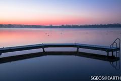 Sunrise at Zegerplas (SGEOS@EARTH) Tags: sunrise water sun sky trees autumn landscape canon eos 5dmarkiv sgeosearth