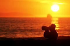 Sunset Photographer 1 (aidanpetersen) Tags: sunset sun sky photo photography photographer warm orange silhouette