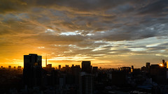 off the night shift (Jin Abe) Tags: nature japan sunrise dawn tokyo nikon df cosina carlzeiss zf2 distagon252zf distagont225