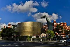 City harvest church (kg2km) Tags: street cloud singapore bluesky 5d nanyang markiii