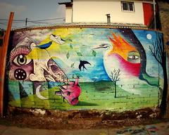Semillas y Sueños... (Felipe Smides) Tags: chile streetart calle mural sueños pintura pinturas semillas muralismo utopía puentealto smides felipesmides