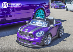Baby Cooper (RaymondC_) Tags: show car japan japanese mini event silverstone cooper minicooper tuner coopers dub carshow toycar jdm 🔰 slammed stance trax classicmini babytoy kidstoy childrencar silverstonecircuit carevent traxsilverstone classiccooper trax2015