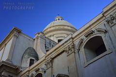 La cupola del Duomo di Noto (Andrea Rapisarda) Tags: italy church nikon italia noto cupola d750 sicily duomo sicilia barocco prospettiva allrightsreserved nikon28300mm