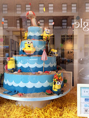 Cake Minions - NYC (verplanck) Tags: nyc summer cake chelsea bakery storewindow minions