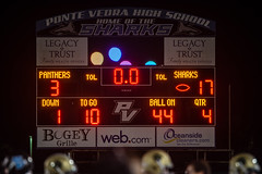 PVHS v Nease-323 (mark.calvin33) Tags: football hit student kick quarterback pass highschool rush catch defense pontevedra tackle blocker nightgame rushing offense pvhs runningback rushingyards pontevedrahighschool