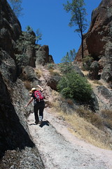 Watch your step, dear (rozoneill) Tags: california park hiking salinas national valley soledad pinnacles hollister wsweekly150