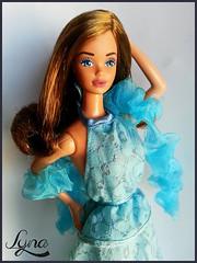 Superstar PJ (Lyna J. Grey) Tags: mannequin face make up grey j mod doll artist dolls ooak barbie makeup queen pj era mold custom superstar mattel steffie puppe puppen lyna rewpaint