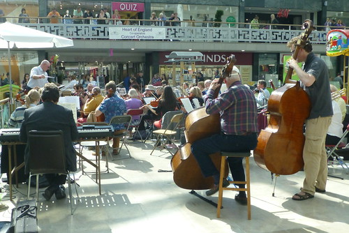 The Heart Of England Co-operative Concert Orchestra_Lower Precinct_Coventry_Sep15