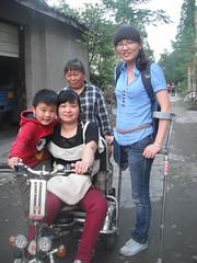 cn2012_May-05 (cb_777a) Tags: china foot earthquake disabled crutches amputee onelegged