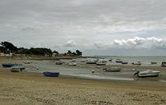 La-Bernerie-en-Retz (Loire-Atlantique) (sybarite48) Tags: france praia beach strand boot boat barca barco playa bateau plage brace  spiaggia  d   tekne plaa plaj   loireatlantique     labernerieenretz