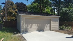 24' X 22' Garage with reverse gable