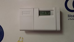 Emerson Sensi WiFi Thermostat installation (tonyolm) Tags: emerson wifi heat furnace ac thermostat sensi