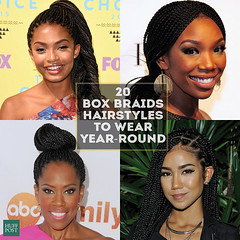 20 Badass Box Braids <b>Hairstyles</b> That You Can Wear Year-Round (tsceleb) Tags: badass wear braids hairstyles yearround