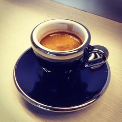 / Nantou -  (Blowing Puffer Fish) Tags: coffee square  squareformat espresso crema  9bar faema iphoneography  instagramapp xproii