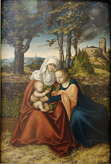 cranach_virgin_child_with_st_anne_c_1520 (Art Gallery ErgsArt) Tags: museum painting studio poster artwork gallery artgallery fineart paintings galleries virtual artists artmuseum oilpaintings pictureoftheday masterpiece artworks arthistory artexhibition oiloncanvas famousart canvaspainting galleryofart famousartists artmovement virtualgallery paintingsanddrawings bestoftheday artworkspaintings popularpainters paintingsofpaintings aboutpaintings famouspaintingartists