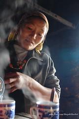 Milk Tea Offering - Lukla, Nepal