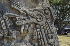 Quetzalcoatl, Xochicalco, Miacatlán, Morelos, México