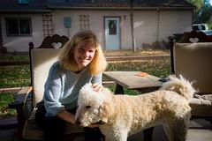 Leslie, our Warmshowers host in Niwot, CO.