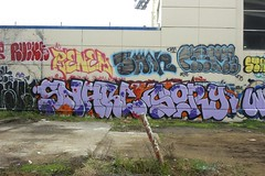 SNARL, SORY (STILSAYN) Tags: california graffiti oakland bay east area snarl smar 2015 krime renek soroy rveng