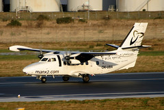 OK-UBA_01 (GH@BHD) Tags: aircraft aviation let airliner turboprop bhd let410 l410 turbolet belfastcityairport manx2com manx2 vanaireurope okuba