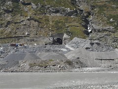 Rohtang Tunnel (jimanish) Tags: tunnel rohtang construction himachal