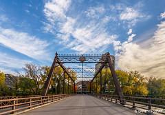 Merriam Street Bridge (lpvisuals.com) Tags: 2016 a7ii fe1635mmf4 city colors fall fallcolors fullframe minneapolis minnesota orange seasons skyline sony trees twincities urban