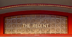 The Regent (phunnyfotos) Tags: phunnyfotos australia victoria vic ballarat centralvictoria window leadlight theatre theater cinema regent theregent theregentcinemas red gold heritage nikon d750 nikond750 curve arch building architecture detail pattern design style lettering font typography glazing