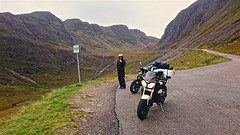 on the way down Applecross pass (urbannivag) Tags: northcoast500 scotland adv triumph speedtriple motoguzzi v7 motorbikes adventure touring