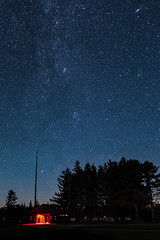Putting it in Perspective (mhoffman1) Tags: a7r astro astrophotography campground cherrysprings darkskypark evening milkyway night pa padcnr park pennsylvania poconos redlight sky sonyalpha stars