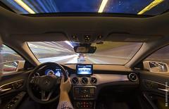Cruising around (and641) Tags: nikond5100 mercedescla cla greece longexposure car automotive driving tokinaaf1116mmf28 speed lighttrails