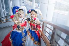 Kotori & Hanayo (Tumeatcat) Tags: anime cosplay portrait coscom nikon d800 lovelive hanayo kotori