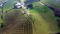 IMG_3552 (ppg_pelgis) Tags: omagh northern ireland aerial photo ppg paraglider uk tyrone lisacoppin farm wind turbine slurry camowen